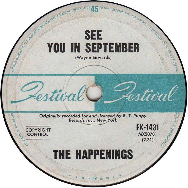 The Happenings See You In September Festival