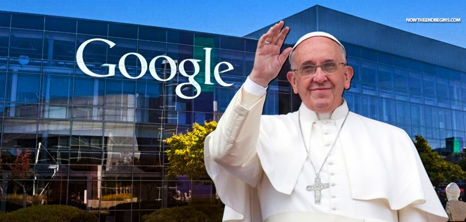 Why Is Pope Francis Having A Closed Door Meeting With Google Chief Exec At The Vatican?