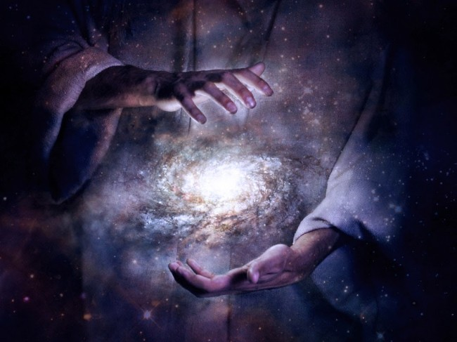 God and universe