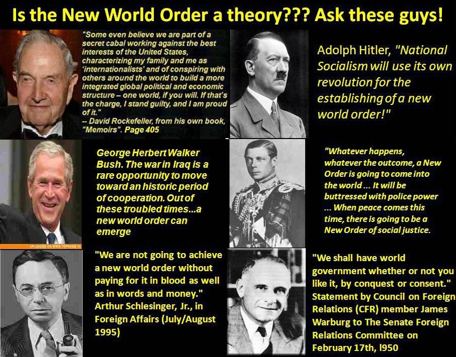 is the New World Order a theory
