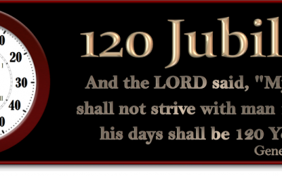 The 120th Jubilee! Do you understand the pattern? The end is here! Rapture Soon! Are you ready?