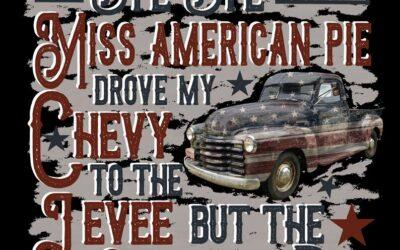 Bye Bye Miss American Pie?