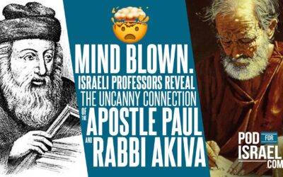 MIND BLOWN!!! The uncanny connection of Apostle Paul and Rabbi Akiva, and man's strange fire.